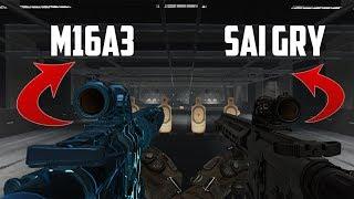 СЕКРЕТНЫЕ ЭКСПЕРИМЕНТЫ В WARFACE! SAI GRY AR-15 VS M16A3 CUSTOM!