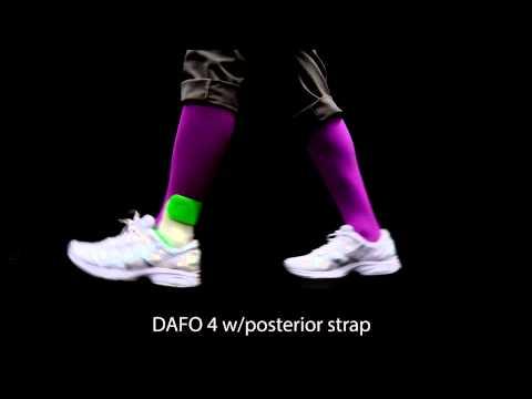 Brace movement | DAFO 4 w/posterior strap