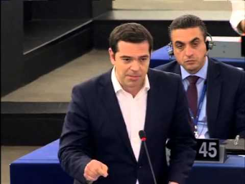 Alexis Tsipras reply to Guy Verhofstadt plenary speech on Greece