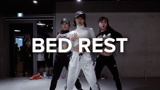 May J Lee teaches choreography to Bed Rest by Electrik Red. Learn f...
