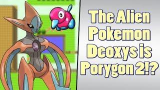 Pokemon Theory: Porygon 2 Became Deoxys?