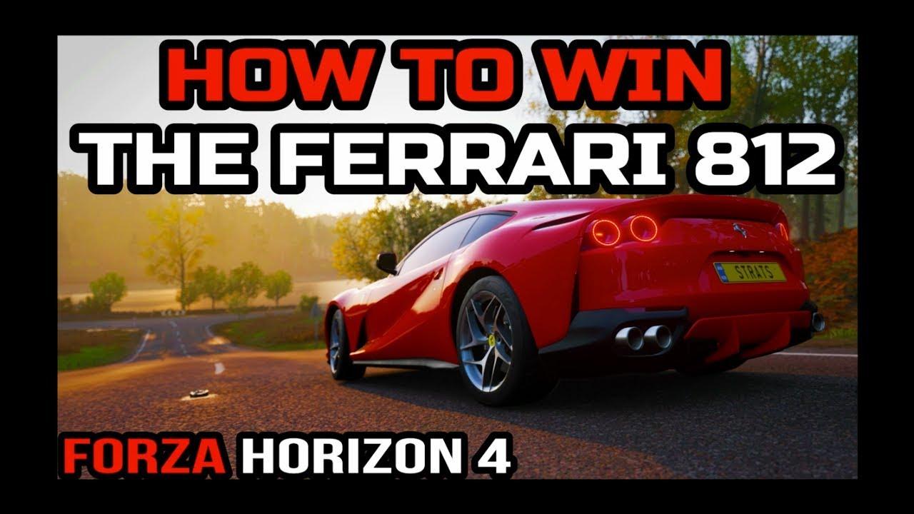 Forza Horizon 4 Many players regret to miss the Ferrari 812