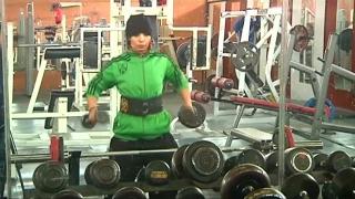 أخبار رياضية - فتحية العمامي.. أول ليبية تشارك في بطولة #روسيا البيضاء لـ #كمال_الأجسام