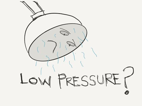 How to Fix Low Shower Pressure for FREE