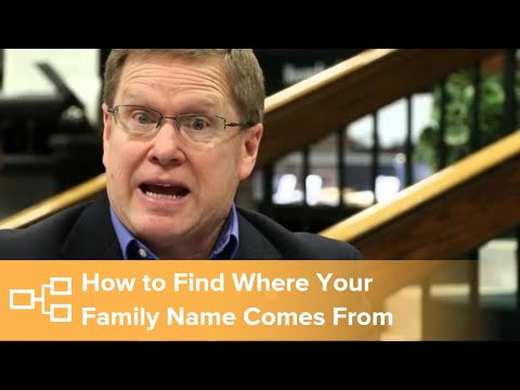 David Rencher - Where does my family name come from?