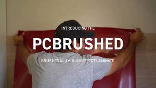 Introducing the new PCBRUSHED - Brushed Aluminium Effect Laminate