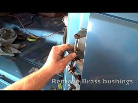 How to remove a Chevy door door pins YouTube
