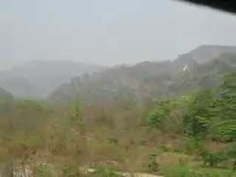 Fast moving Scenario of Mountain area