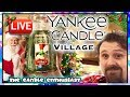 LIVE - Yankee Candle Village CHRISTMAS 2018 - TOUR - All 2018 Fragrances & Accessories