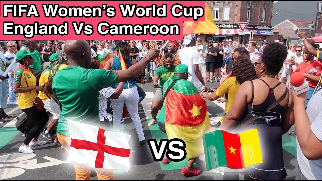 VAR Controversy and Players Protesting - England Vs. Cameroon FIFA Women's World Cup, France.