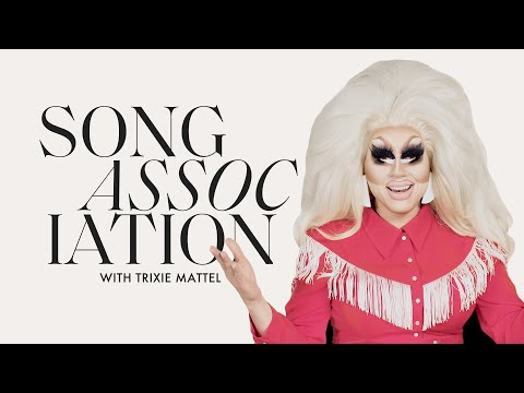 Trixie Mattel Sings Mariah Carey, RuPaul, and The Beach Boys in a Game of Song Association | ELLE