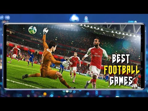 TOP 5 FOOTBALL GAMES FOR ANDROID | 2019 | SOCCER| Online | Offline