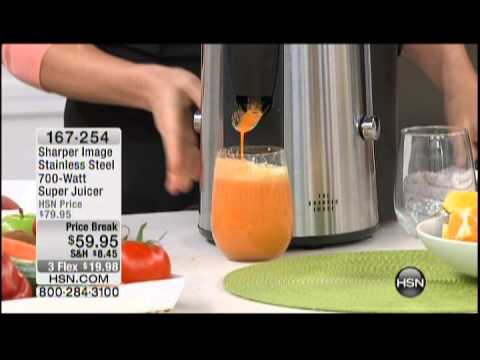 how to clean sharper image juicer