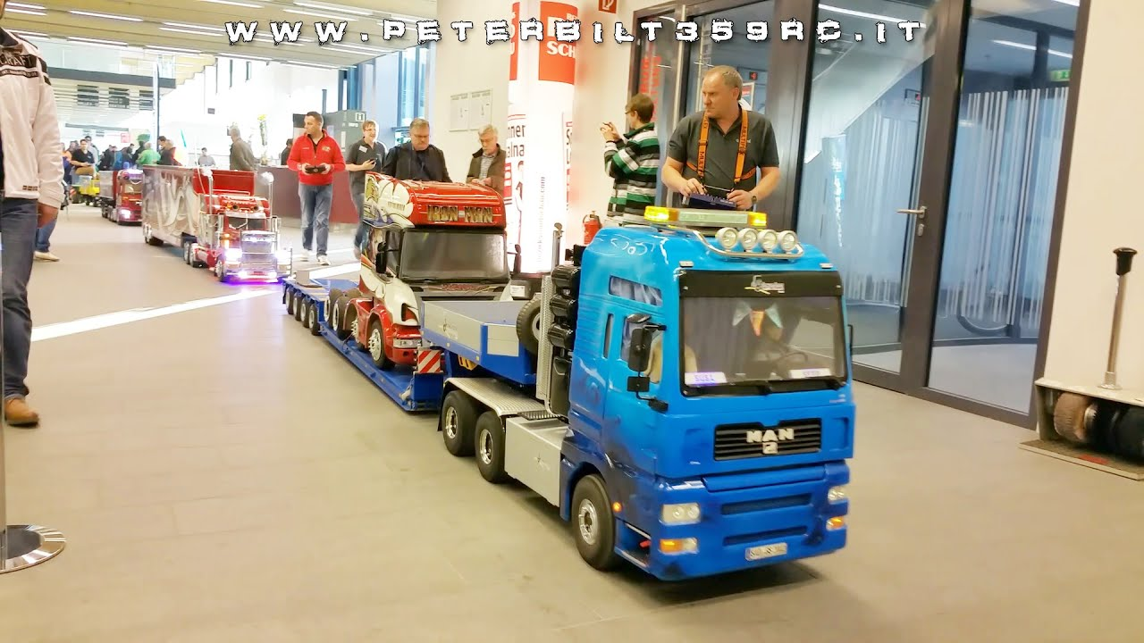 Grand Parade Of Trucks Large Scale In Wels Modellbau 2017