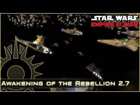 Helping the Hutts - Ep 7 - Awakening of the Rebellion 2.7 - Star Wars Empire at War Mod