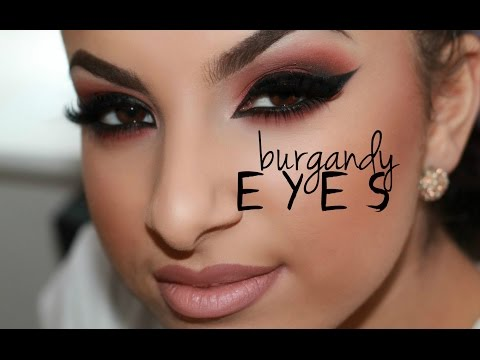 Burgundy Eye Tutorial | Makeup By Leyla