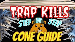 How to get trap kills & cone/pyramid guide| Fortnite Step by Step Guide