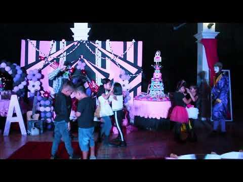 Shanialen 7th barbie rock star birthday part 3