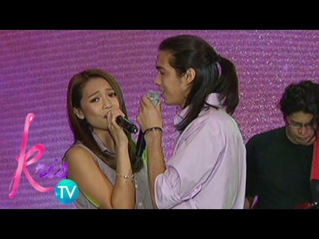Kris TV: Tommy, Miho sing 'Kahit Maputi Na Ang Buhok Ko'