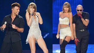 Taylor Swift Inivitó a Pitbull y Ricky Martin a1989!