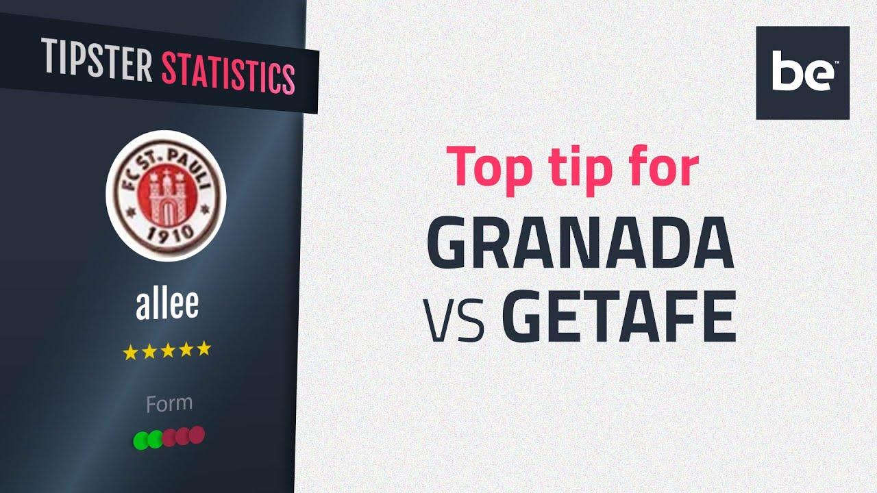 Granada vs getafe betting tips binary options strategy 5 minutes 15 min no loss