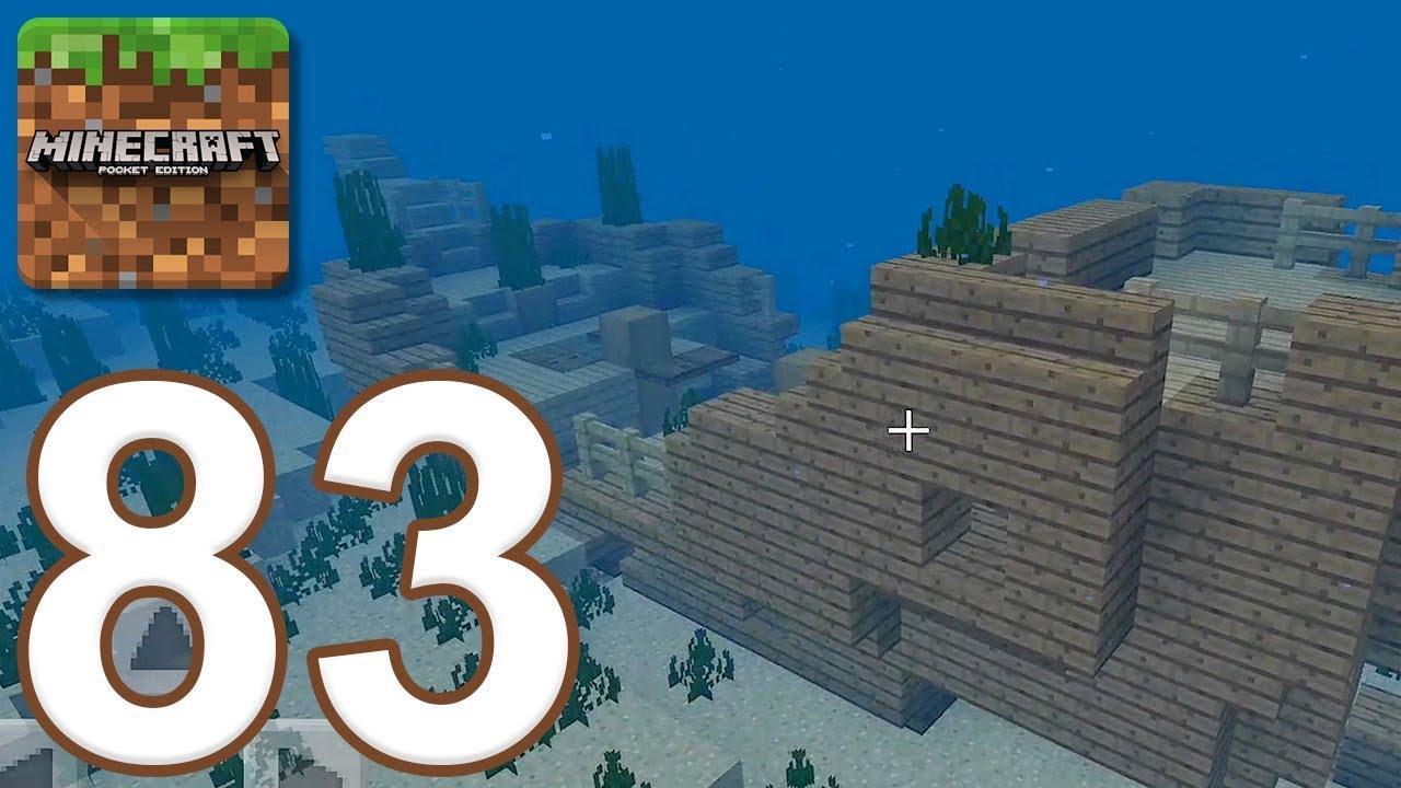 Minecraft: Pocket Edition - Gameplay Walkthrough Part 8 - New Aquatic  Update (iOS, Android)