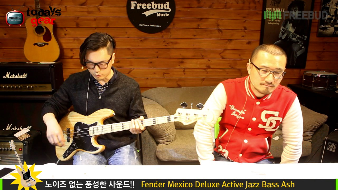 todaysgear fender mexico deluxe active jazz bass [ 1280 x 720 Pixel ]