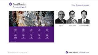 Grant Thornton Webinar: Doing Business in Australia