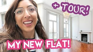 I'M MOVING! My New Apartment + Empty House Tour!
