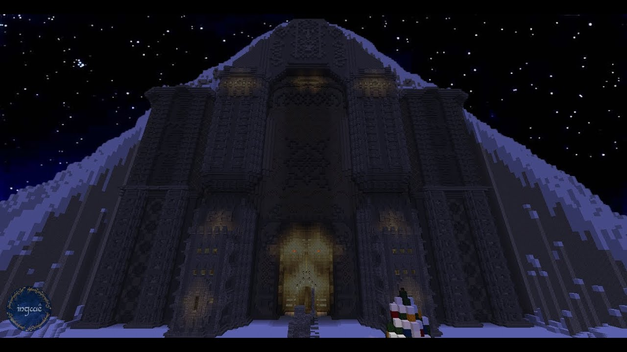 Minecraft Lord Of The Rings Builds