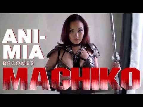 See Ani-Mia as She-Predator Machiko!