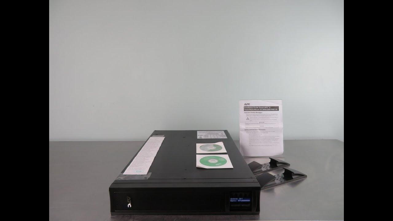 APC Smart UPS X 3000 Power Supply