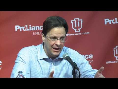 IU Basketball Coach Tom Crean After Nebraska Win