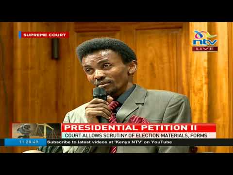"""The Court has been too cruel to my application"" - Caleb Wamaya tells Supreme Court judges"