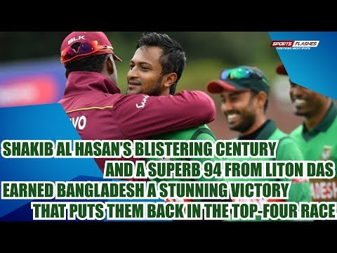 West Indies vs Bangladesh Match Review by Boria Majumdar   World Cup 2019
