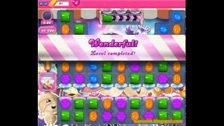 Candy Crush Saga - Level 1409 (No boosters)