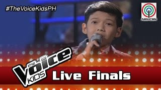 "The Voice Kids Philippines Season 3 Live Finals: ""How Will I Know"" by Justin"