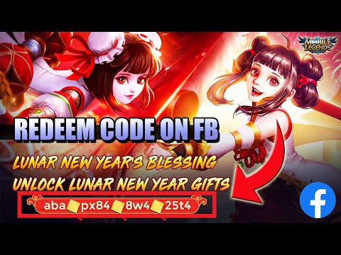 GET REDEEM CODE ON FACEBOOK FOR LUNAR NEW YEAR
