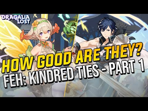 FEH2: Kindred Ties Banner Part 1: Unit Review - Chrom & Peony | Dragalia Lost