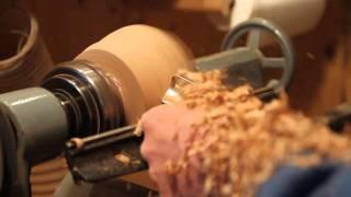 "Wood Turning Natural Edge Bowl ""maple Burl"""