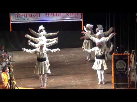 gaddi nawala himachali folk dance @ govt college dharamshala