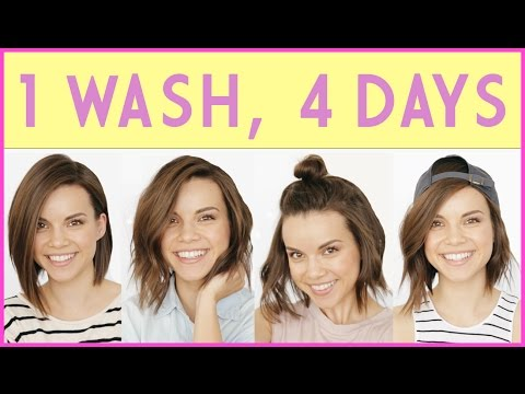 Make 1 Wash, 4 Days! How to Extend Your Hairstyle ◈ Ingrid Nilsen Pics
