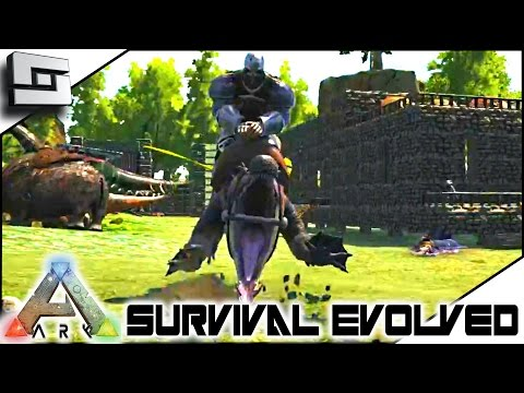 ARK: Survival Evolved - TAMING A KAPROSUCHUS! S4E54 ( The Center Map Gameplay )
