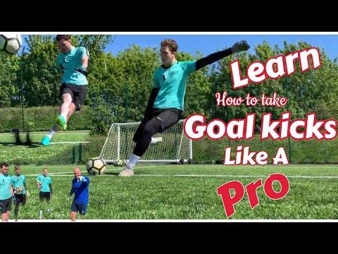 How to take Goal Kicks ... How to improve your Goal Kicks goalkeeping tutorial
