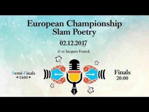 European Championship Slam poetry