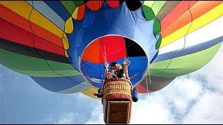 Hot Air Balloons Take To The Sky At Zoetermeer أخذ إلى السماء