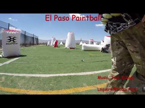Paintball El Paso Practice