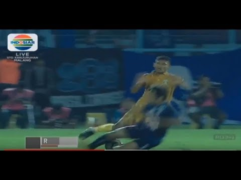 TEKEL KUNGFU!!!.. HANIF SYAHBANDI KEPADA PEMAIN BHAYANGKARA FC Mp3