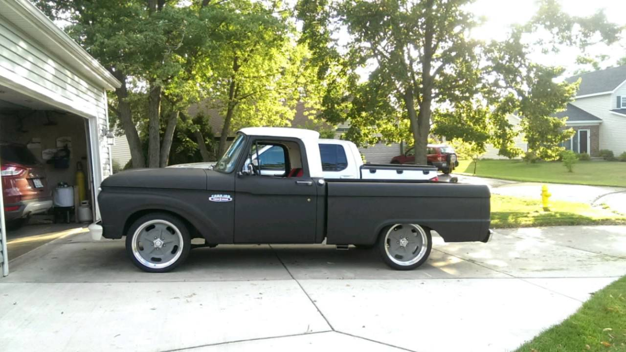 1965 Ford F100 Hot Rod Youtube