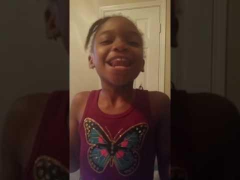 Anaiyah singing Jekalyn Carr
